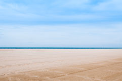 Sea and sand at nature landscape samila-songkhla Thailand. For background royalty free stock image