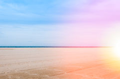 Sea and sand at nature landscape samila-songkhla Thailand. For background stock photos