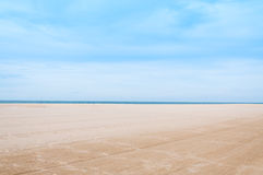 Sea and sand at nature landscape samila-songkhla Thailand. For background stock photo