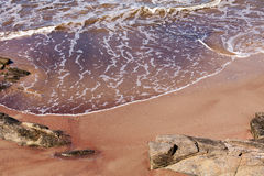 Sea, Sand and Rocks Royalty Free Stock Photography