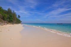 Sea sand sky on the beach Royalty Free Stock Photography
