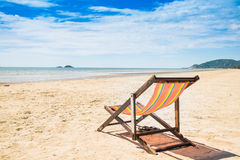 Sea and sand. On summer Royalty Free Stock Images