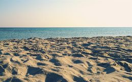 Sea & sand& sun  in the summer. Sea and sand in summer holiday Stock Image