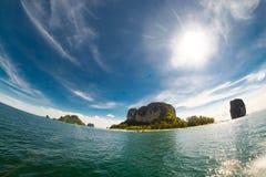 Sea sand sun beach natural at krabi and phuket in Thailand Royalty Free Stock Photo