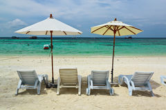 Sea,sand and sun on holiday at Lipe island,Thailand Royalty Free Stock Photography