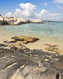Sea sand and surf virgin gorda Stock Image