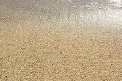 Sea sand texture background Royalty Free Stock Photography