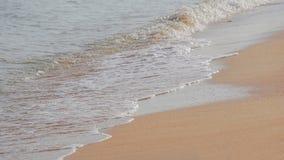 Sea sand waves Stock Image