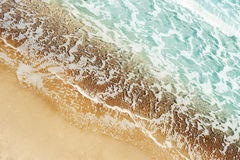 Sea sand and waves Stock Image