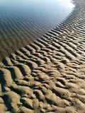 Sea and sand. Where sea and sand meet, Hun Hin Thailand Royalty Free Stock Images