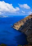 Sea of Santorini Stock Image