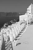 in the sea  of santorini greece island europe anniversary and m Stock Photos