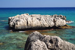 Sea of sardinia Royalty Free Stock Photos