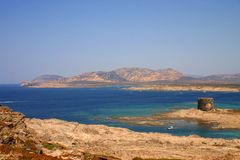 Sea of Sardinia Stock Photography