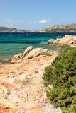 Sea in Sardinia Stock Images