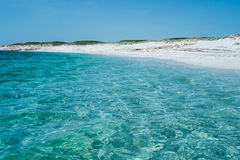 Sea in Sardinia Stock Photography