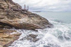 Sea scape Royalty Free Stock Photo