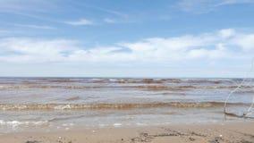 Sea scape, Baltic Sea stock video footage
