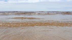 Sea scape, Baltic Sea stock footage
