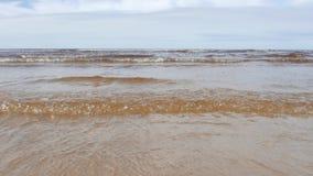 Sea scape, Baltic Sea stock footage
