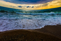 Sea Scape. Greece sea ocean Stock Photo