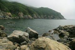 Sea scape. Primorye, Russia Royalty Free Stock Photo