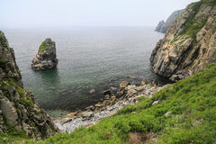 Sea scape. Primorye, Russia Royalty Free Stock Photos