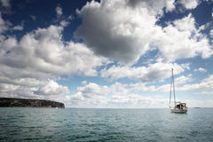 Sea scape in swanage Stock Images