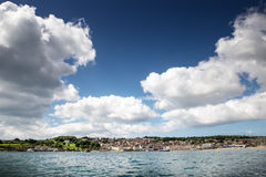 Sea scape in swanage Royalty Free Stock Photos