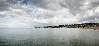 Sea scape in swanage Stock Photos