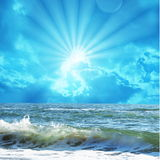 Sea scene Royalty Free Stock Images