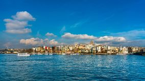 Sea Scenery In Istanbul, Turkey stock photo