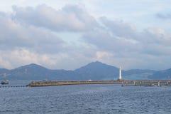 The sea scenery Stock Image