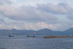 The sea scenery Stock Photos