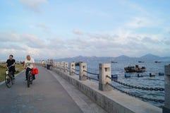 The sea scenery Royalty Free Stock Photo