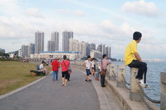 The sea scenery Stock Photography
