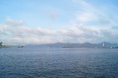 The sea scenery Royalty Free Stock Photos