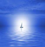 Sea scenic. Picture of a beautiful Sea scenic stock illustration