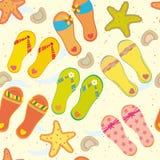 Sea seamless pattern Royalty Free Stock Photography