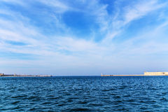 Sea in Sevastopol Royalty Free Stock Photography