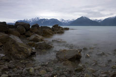 Sea in Seward Stock Image