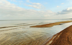 Sea with shallow. Stock Photo