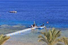Sea in Sharm El Sheikh Stock Photos