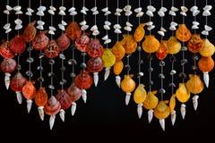 Sea shell decor. Royalty Free Stock Photography