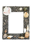 Sea Shell Picture Frame Royalty Free Stock Image