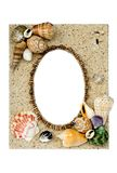 Sea Shell Picture Frame Royalty Free Stock Photography