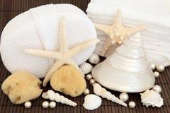 Sea Shell Spa Stock Photos