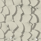 Sea shells pattern Stock Image
