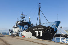 Sea Shephered anti-whaling ship Royalty Free Stock Photos