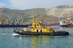 The sea ship Royalty Free Stock Image